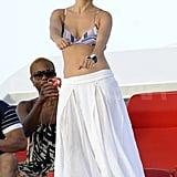 Jennifer Lopez dancing.