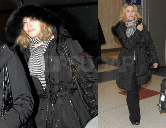Madonna Keeps Christmas Low Key