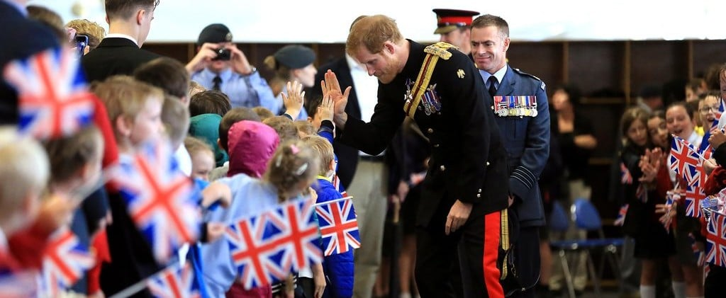 Prince Harry Delights Kids — and Grown Women — During His Visit to Suffolk