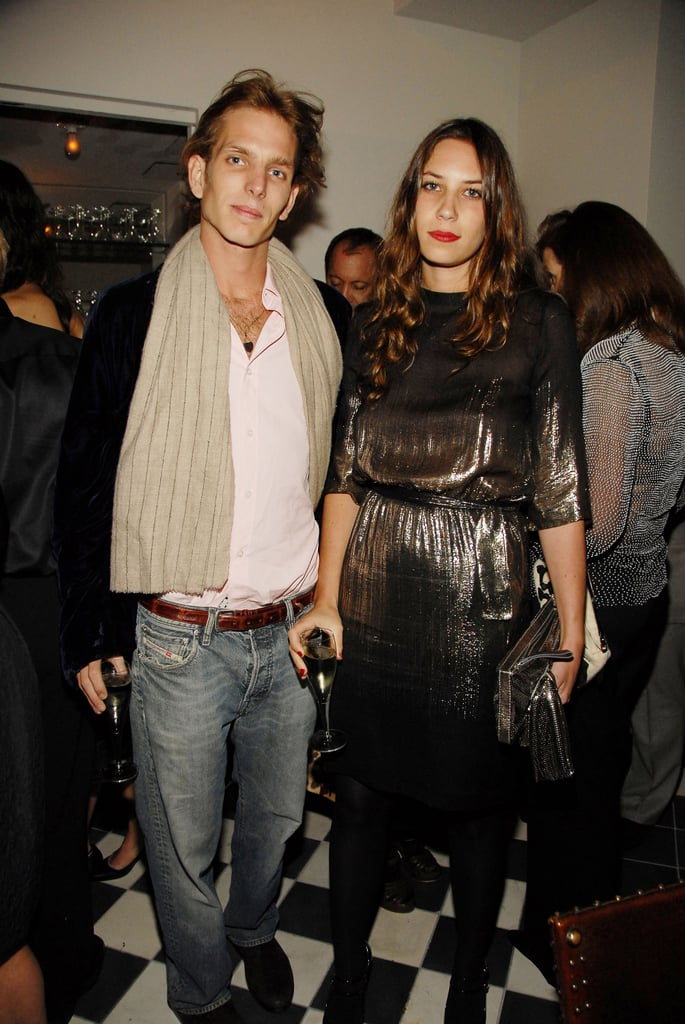 For Andrea casiraghi tatiana santo domingo thought differently