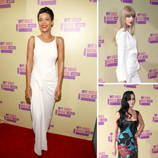 Pictures of Red Carpet Arrivals At 2012 MTV Video Music Awards: Pink, Zoe Saldana, Rihanna