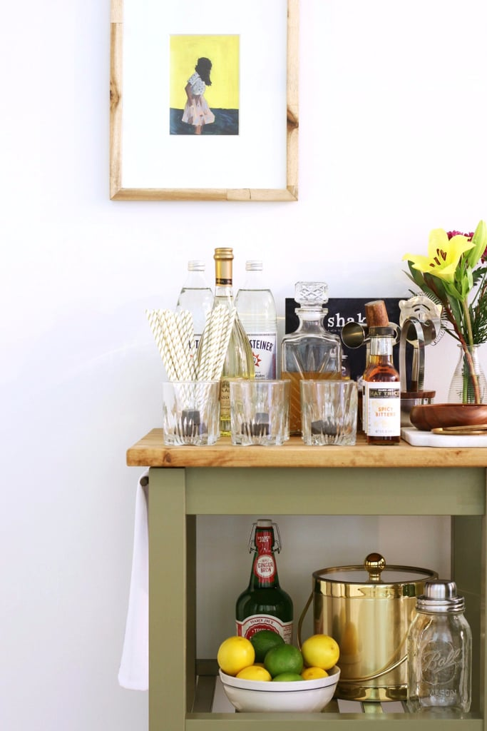 Ikea Kitchen Bar Cart Hack