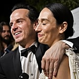 Andrew Scott and Sian Clifford at the 2019 Emmys