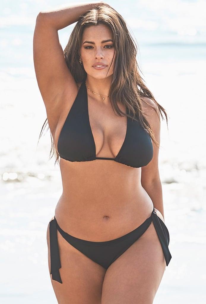Ashley Graham x Swimsuits For All Elite Black Triangle Bikini