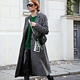 Style a Pair With a Checkered Coat