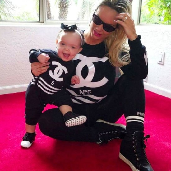 Coco Austin and Chanel Matching Instagram Photo Dec. 2016