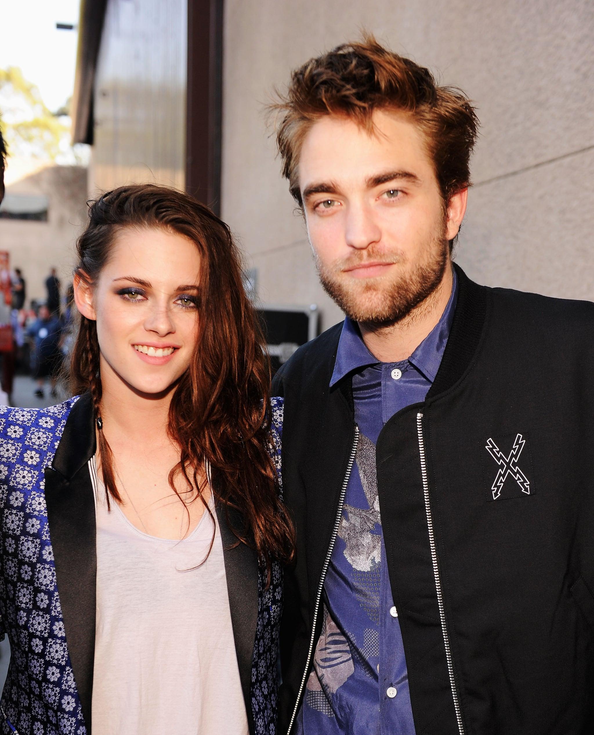 Dated pattinson who robert has Kristen Stewart