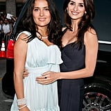 Salma Hayek and Penélope Cruz