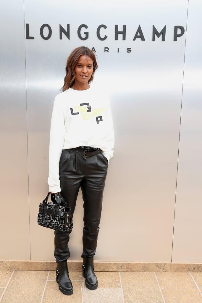 Liya Kebede at the Longchamp New York Fashion Week Show