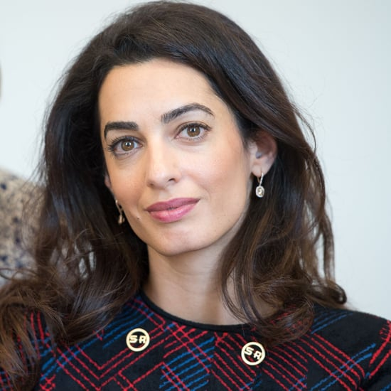 Amal Clooney Sonia Rykiel Plaid Suit September 2016