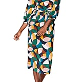 Boden Lottie Print Midi Dress