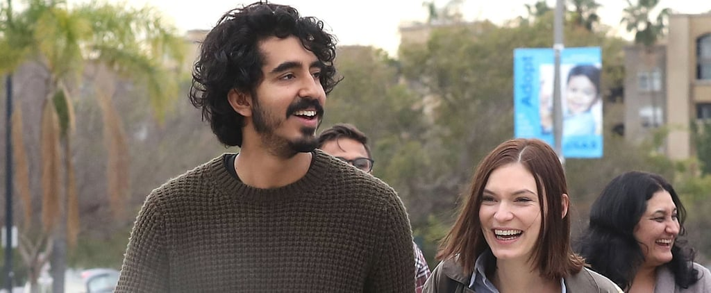 Dev Patel and Tilda Cobham-Hervey Hold Hands in LA Feb. 2017