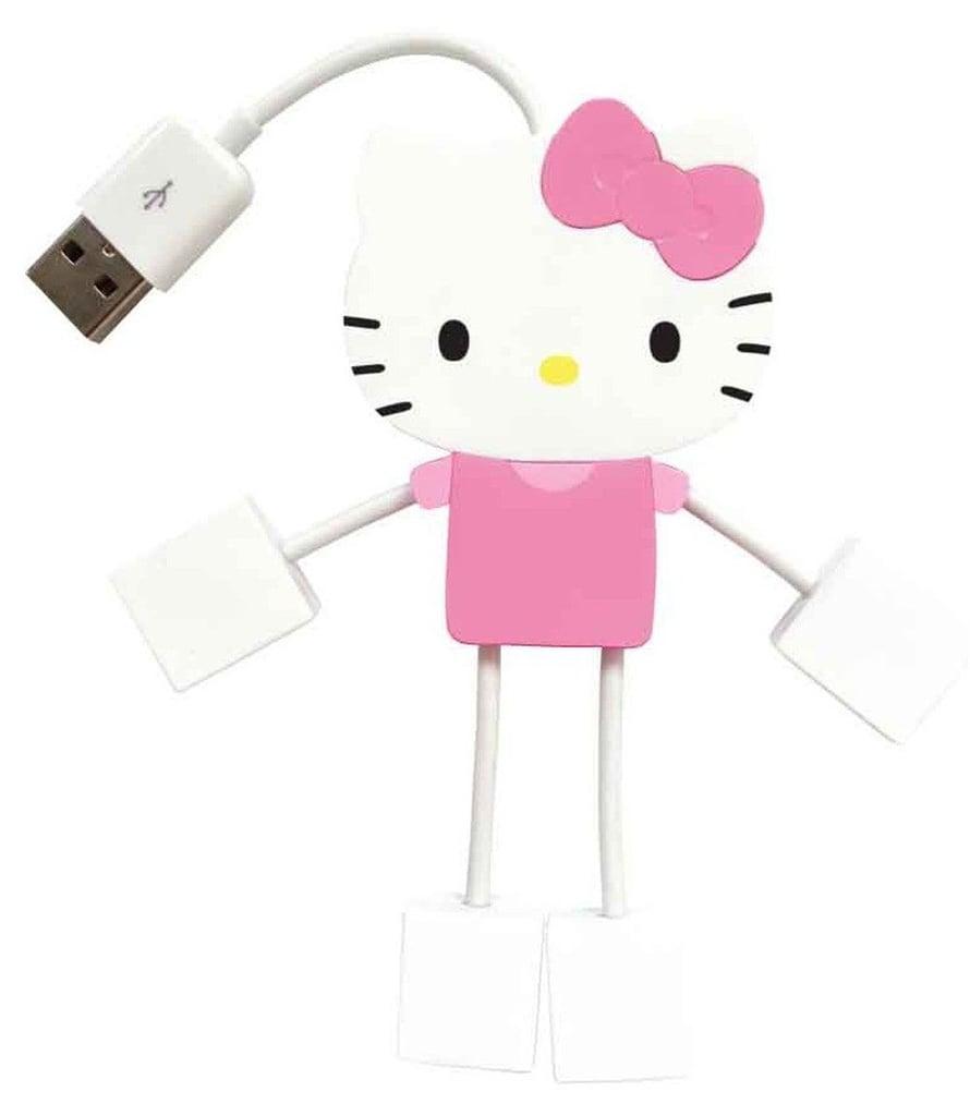 Hello Kitty 4-Port Kitty Hub USB ($3)
