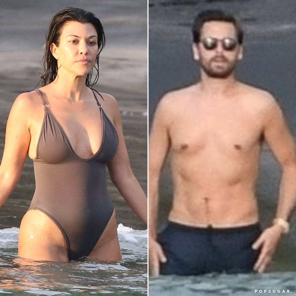 Kourtney Kardashian and Scott Disick in Costa Rica June 2019
