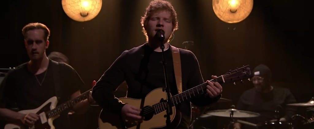 "Ed Sheeran Performs Something Other Than ""Shape of You"" on the Tonight Show"