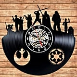 Star Wars Vinyl Star Wall Clock