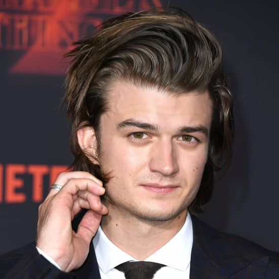 Joe Keery Hair Routine