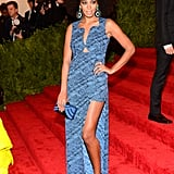 Solange Knowles at the Met Gala 2013.