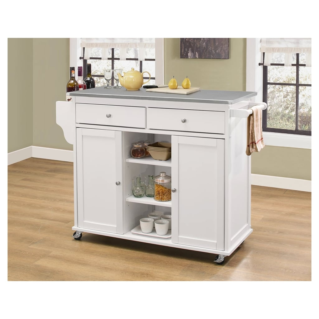 Acme Furniture White Kitchen Island