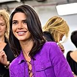 Kendall Jenner at Fashion Week Spring 2019