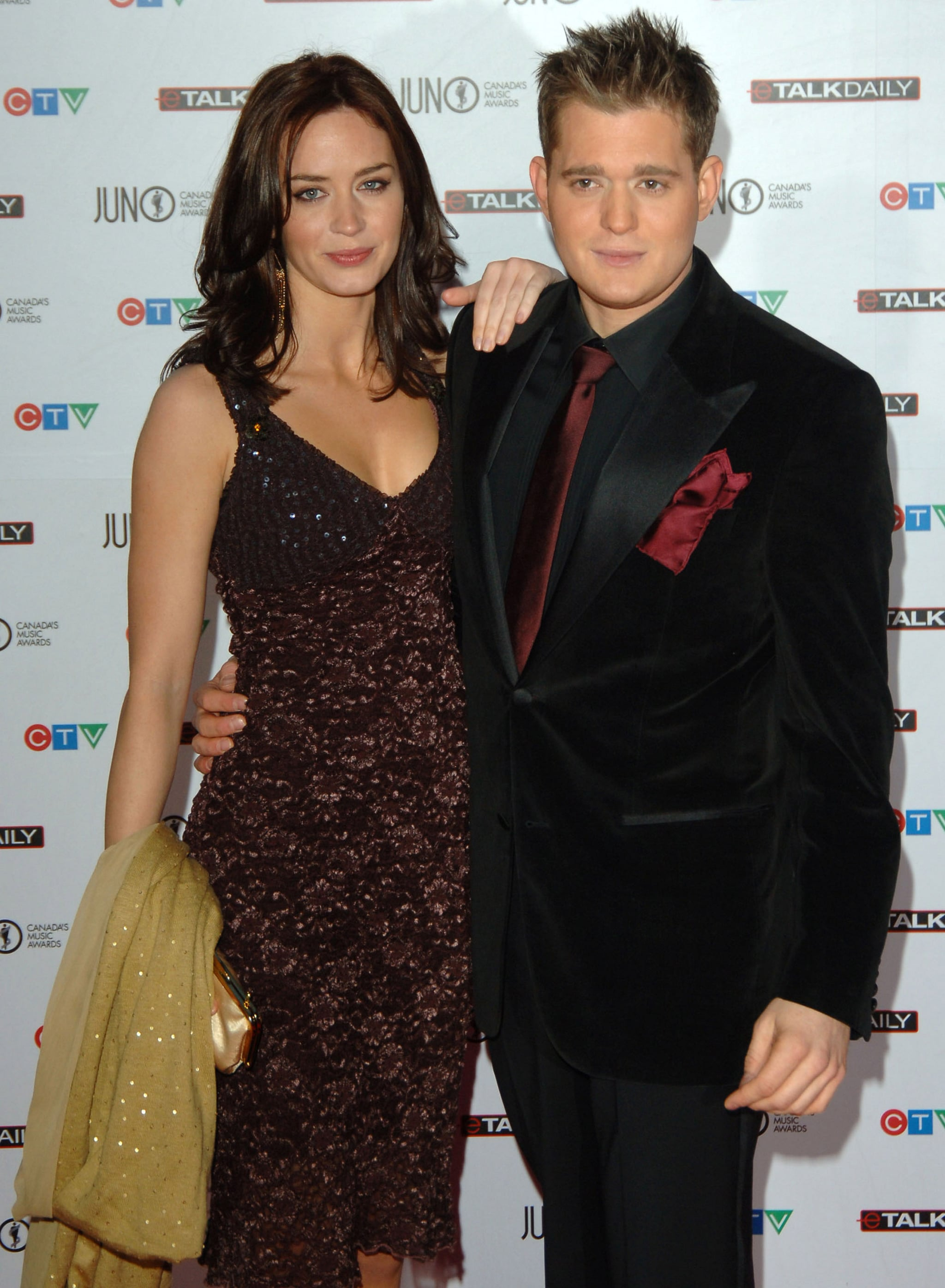 Michael Buble Emily Blunt Emily Blunt and Michae...