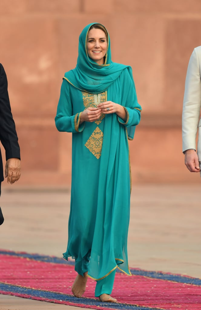 Kate Middleton in Maheen Khan