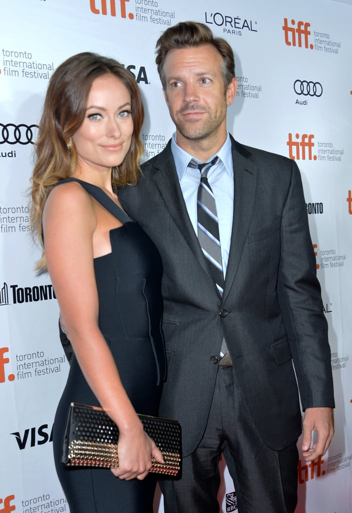 Olivia Wilde had the support of her fiancé, Jason Sudeikis, at her Rush premiere.