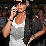 Katie Price aka Jordan at LAX