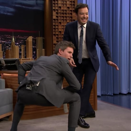 Eddie Redmayne's Fantastic Beasts Dance With Jimmy Fallon