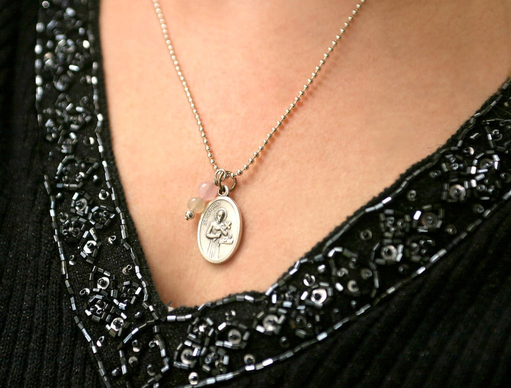 Saint of Happy Deliveries Fertility Necklace