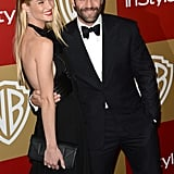 Jason Statham and Rosie Huntington-Whiteley coupled up.