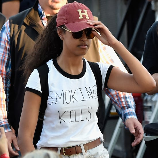 Malia Obama at the Made in America Festival 2016