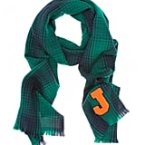 For the girl who identifies with the varsity prepster set, we've found just the thing: Jil Sander's Wool Plaid Letter Scarf ($282). Sure, it may be a bit of a splurge, but we're pretty sure the plaid print and old-school vibe are a trend for all seasons.