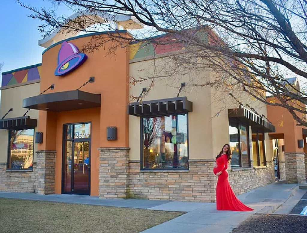 This Woman Took Her Maternity Photos at Taco Bell and Now She's My Idol