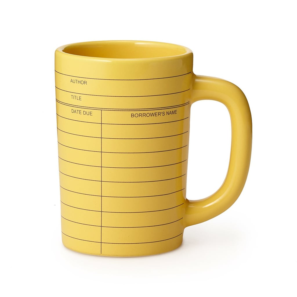 Out of Print Library Card Mug