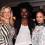 Constance White and Martine Reardon stepped out in NYC to support Nicole Richie.