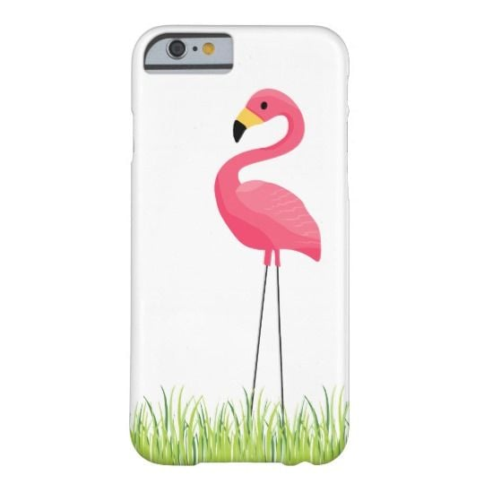 Cuban Pink Flamingo Barely There iPhone 6 Case ($39)