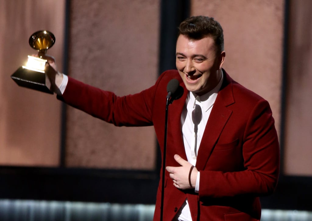 Sam Smith Grammys Acceptance Speeches 2015