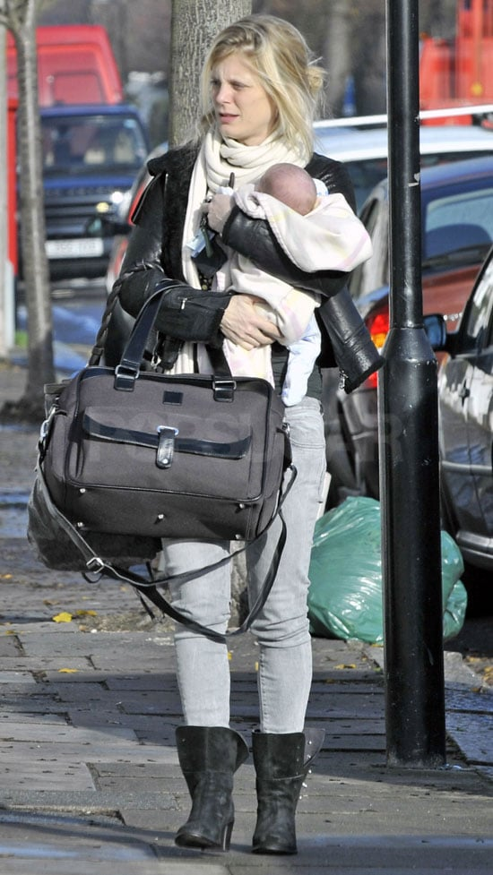 Pictures of Emilia Fox With Her Baby Daughter