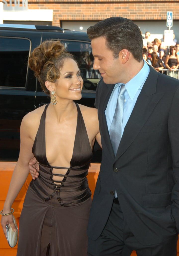 Ben Affleck and Jennifer Lopez Throwback Pictures