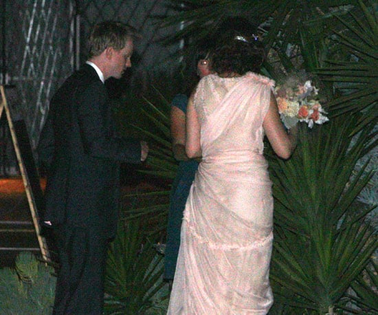 Emily Deschanel and David Hornsby at their wedding