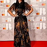 Lily Allen at the 2019 Brit Awards
