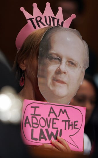 Congress Moves Forward With Karl Rove Contempt Charge