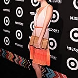 Nora Zehetner supported Missoni for Target.