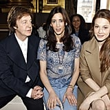 Stars Are Seated Front Row For Paris Fashion Week