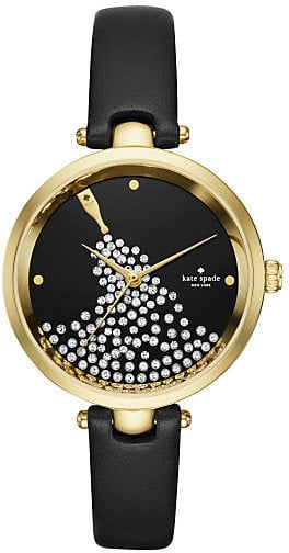 Kate Spade Stone Set Gold Tone Strap Watch (£209)