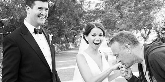 Couple Gets 'Big' Surprise When Tom Hanks Crashes Their Wedding Photos