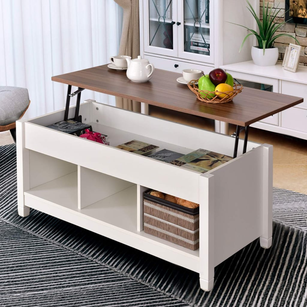 Small Spaces Are No Match For These Coffee Tables With Secret Storage Compartments