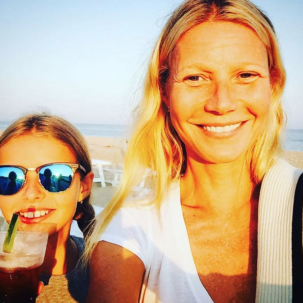 "Gwyneth Paltrow has offered some adorable glimpses into her family life over the years, sharing picture-perfect snaps of her kids on Instagram. She's posted cute selfies with Apple, 12, and Moses, 10, plus sunny vacation photos from some of their family travels. Recently, she shared a photo from Apple's 12th birthday party, featuring none other than ""bestie"" Blue Ivy Carter. Back in July, Gwyneth opened up about how she and her ex Chris Martin both value their family, saying, ""It's been hard, and we've gone through really difficult times, but we've always said these children are our priority."" Keep reading for some of the actress's best Instagram snaps with her little ones, then check out what Gwyneth's boyfriend, Brad Falchuk, recently said about their relationship."