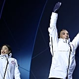 Adam Rippon and Mirai Nagasu Friendship